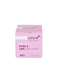 Aloe+ Colors Eyes & lips fine lines face cream