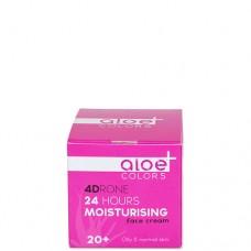 Aloe+ Colors 24h Moisturising face cream