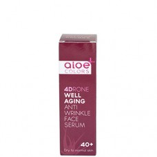 Aloe+Colors Well aging antiwrinkle face serum