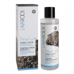 Lava Rock Toning lotion with volcanic water
