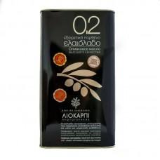 Extra virgin olive oil Liokarpi 0.2% 5l